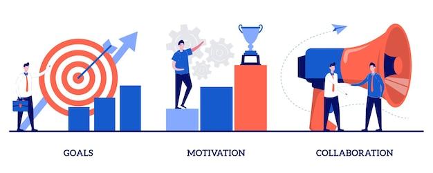 Obiettivi, motivazione e concetto di collaborazione con persone minuscole