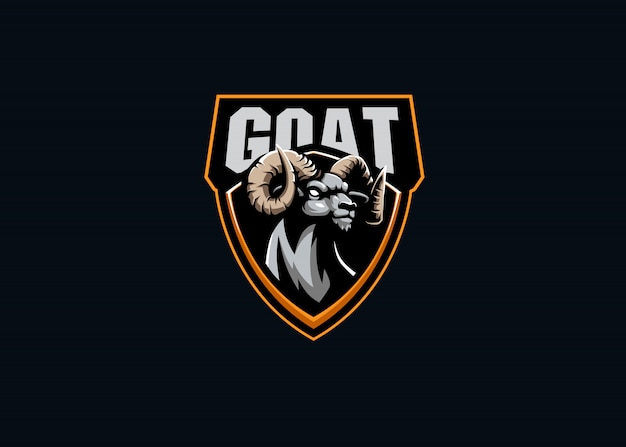 Logo mascotte esport forza capra