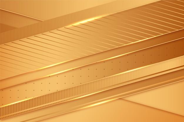 Concetto di sfondo di lusso dell'oro