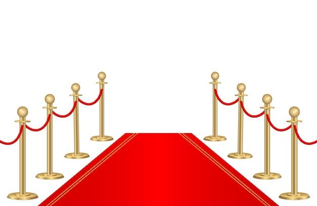 Supporti per barriere in corda d'oro