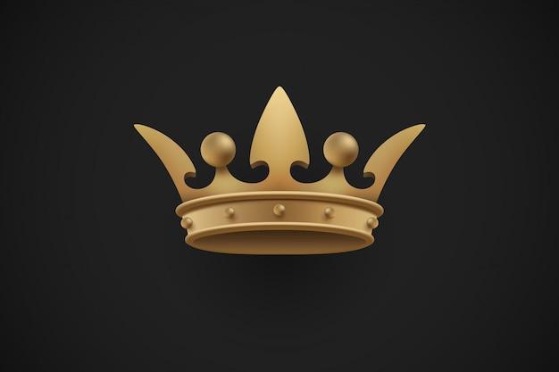 Corona reale d'oro