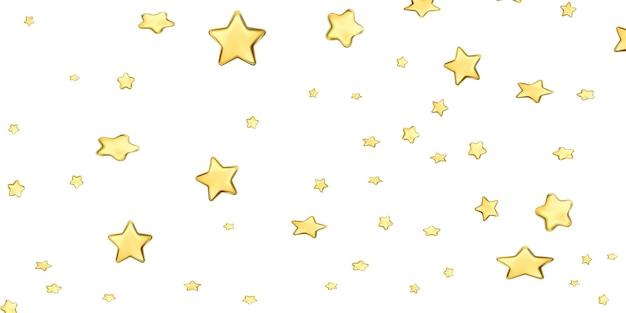 Sfondo stella d'oro. bellissimo. bandiere del modello di illustrazione vettoriale.