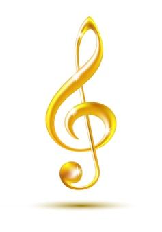 Chiave di violino d'oro