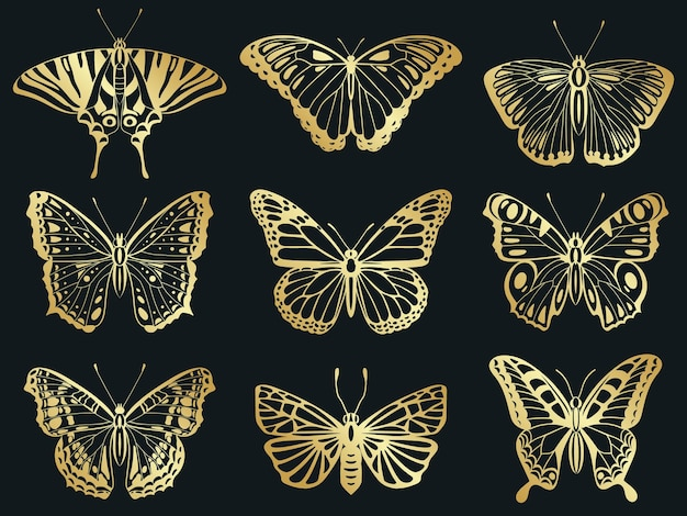 Farfalle dorate
