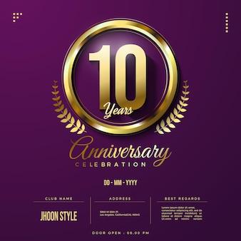 Numero d'oro dell'edizione per il decimo anniversario