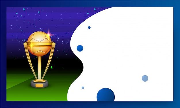 Trofeo di calcio d'oro.