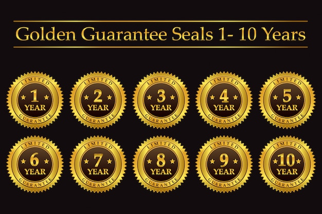 Sigilli di garanzia d'oro