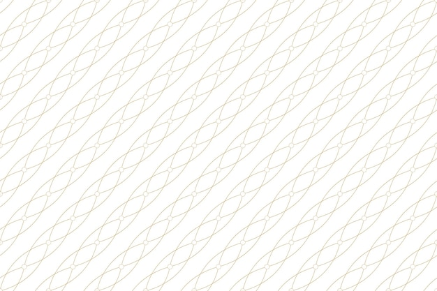 Trama dorata. modello senza cuciture geometrico con linee e punti collegati. linee plesso cerchi. connettività di sfondo grafico. sfondo moderno ed elegante per il tuo design. illustrazione vettoriale.