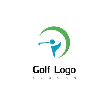 Ispirazione per il design del logo del golf