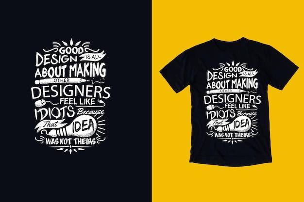 Citazione ispiratrice di buon design