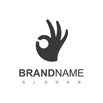 Ispirazione per il design del logo della buona mano