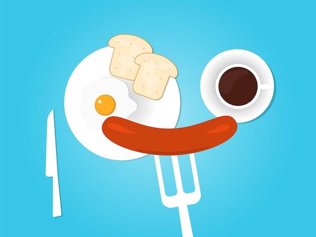 Buongiorno, colazione, fondo