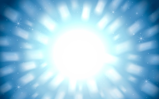 Splendido sfondo scintillante, luci bianche su sfondo blu