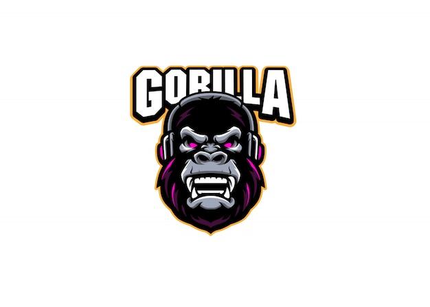 Logo della squadra di gorilla gaming esport