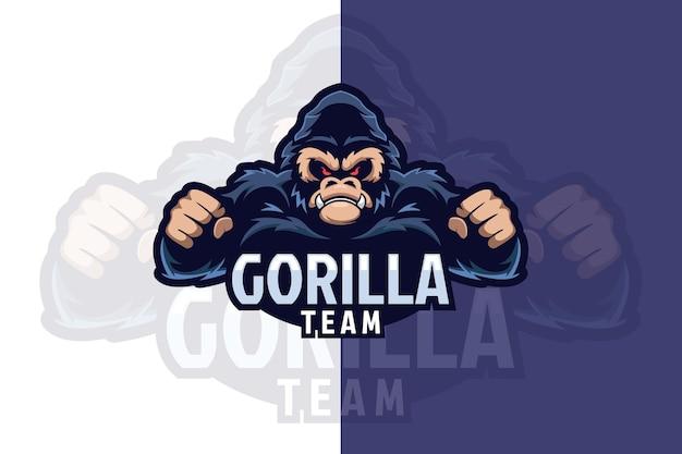 Logo della squadra di gorilla