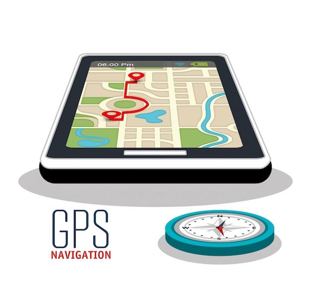 Progettazione della navigazione gps