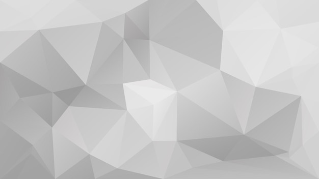 Fondo orizzontale astratto del triangolo di pendenza. fondale poligonale di colore grigio per presentazione aziendale. bandiera astratta geometrica alla moda. volantino del concetto di tecnologia. stile mosaico.