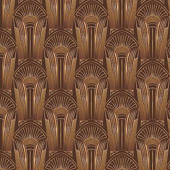 Design pattern art deco gradiente