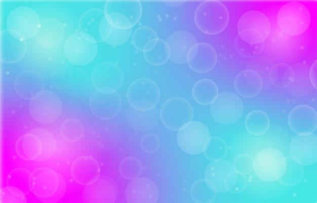 Sfondo sfumato con design effetto bokeh per carta da paratisito websfondocarta