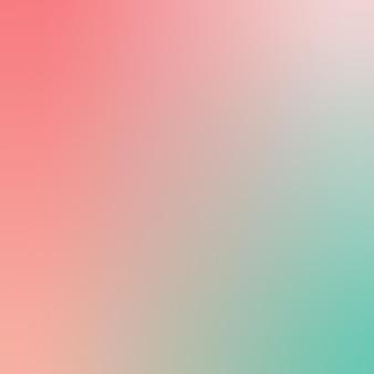 Gradiente sfocato rosa polverosa blu verde corallo capesante conchiglia sfondo sfumato sfondo