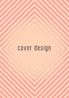 Modello di copertina sfumato. layout minimale alla moda con mezzitoni. modello futuristico di copertina sfumata per banner, presentazioni e brochure. forme colorate minimaliste. illustrazione astratta di affari