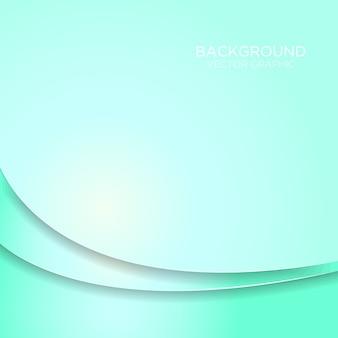 Strato di sovrapposizione della curva di gradiente con spazio per la progettazione di testo e messaggi