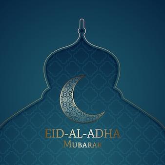 Gradiente eid al-adha illustrazione