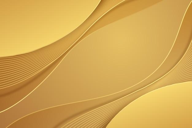 Sfondo di lusso dorato sfumato