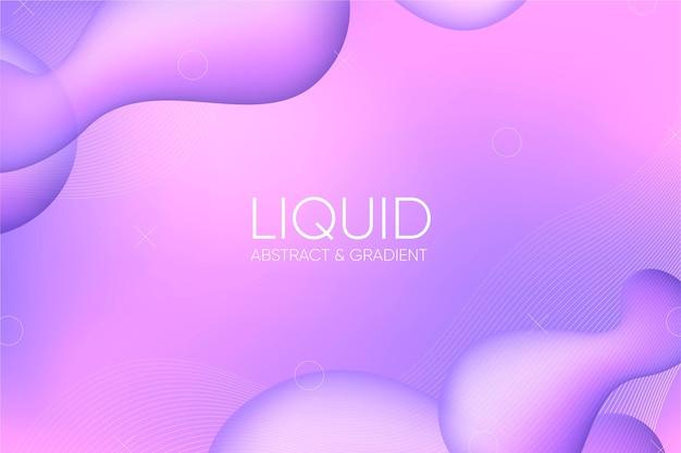 Sfondo astratto liquido sfumato