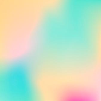 Fondo astratto della maglia di pendenza. forme fluide colorate per poster, banner, volantini e presentazioni. colori tenui alla moda e miscela liscia. modello moderno con mesh sfumata per schermi e app mobile