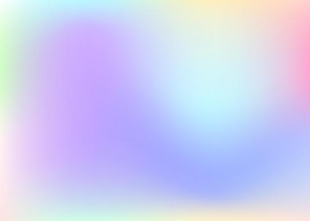 Fondo astratto della maglia di pendenza. fondale olografico liquido con maglia sfumata. stile retrò anni '90 e '80. modello grafico iridescente per brochure, flyer, poster, carta da parati, schermo mobile.