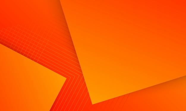 Sfondo arancione sfumato, sfondo digitale iniziale creativo astratto