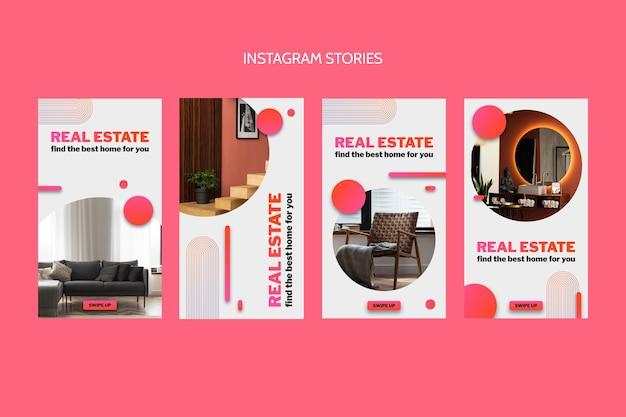 Storie di gradienti immobiliari ig