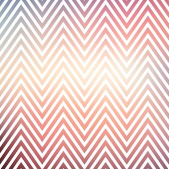 Motivo a zig zag sfumato, sfondo geometrico astratto. illustrazione di stile lussuoso ed elegante