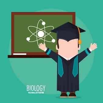 Classe di biologia degli studenti laureati