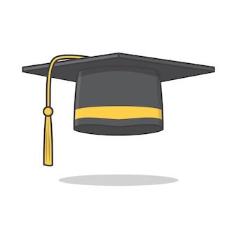 Protezione di graduazione isolata su bianco