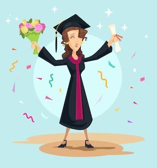 La laurea.