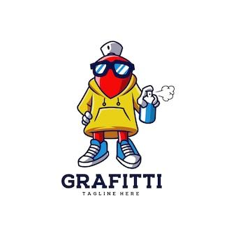 Grafitti spruzzatore spruzzi vandalismo
