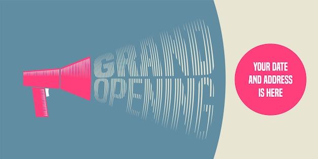 Illustrazione di grande apertura