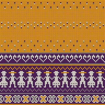 Modelli di maglia maglione di nonnini maglioni