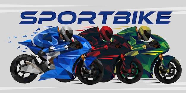Granprix race championship. poligono