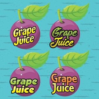 Logo del succo d'uva