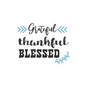 Grato grato benedetto, disegno di citazioni di ispirazione