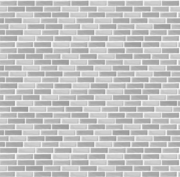 Modello senza cuciture di struttura del muro di mattoni grigi
