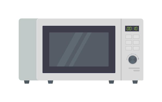 Forno a microonde metallico grigio clipart attrezzatura da cucina elettrodomestici tecnologia da cucina