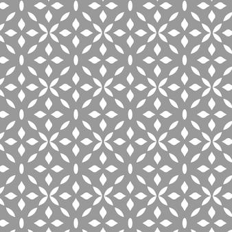 Modello senza cuciture ornamentale grigio