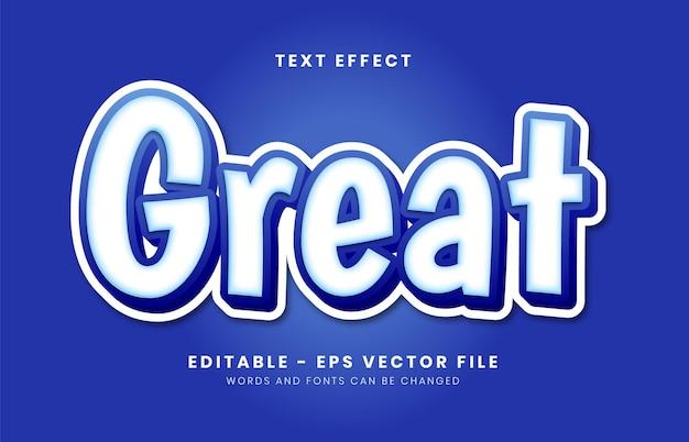 Ottimo effetto di testo