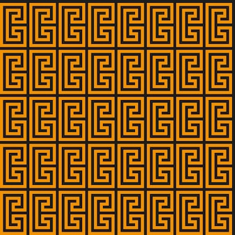 Modello senza cuciture chiave greca. meandro geometrico. sfondo vintage vettoriale astratto