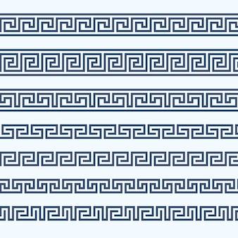 Bordo con motivo greco - ornamento greco