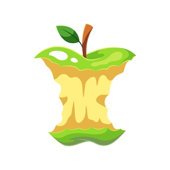 Frutta mela verde